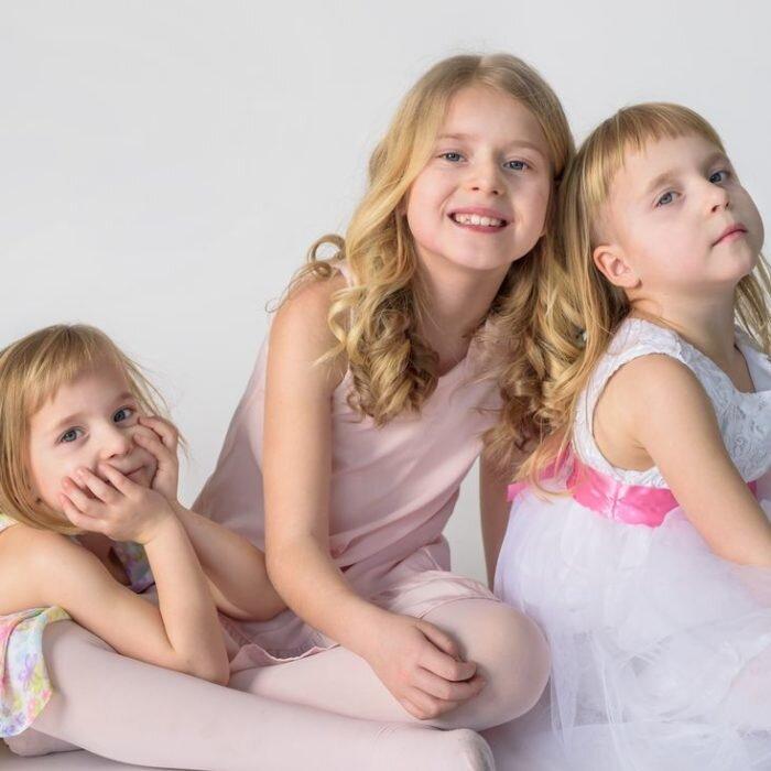 fotografia rodzinna z dziećmi, niemowlęca, zdjęcia dzieci, dziewczynki