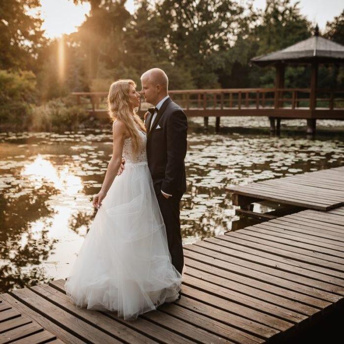sesja poślubna w parku japońskim wrocław, ślub romantyczny