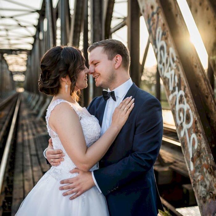 sesja industrialna w mieście Wrocław poślubna ślubna