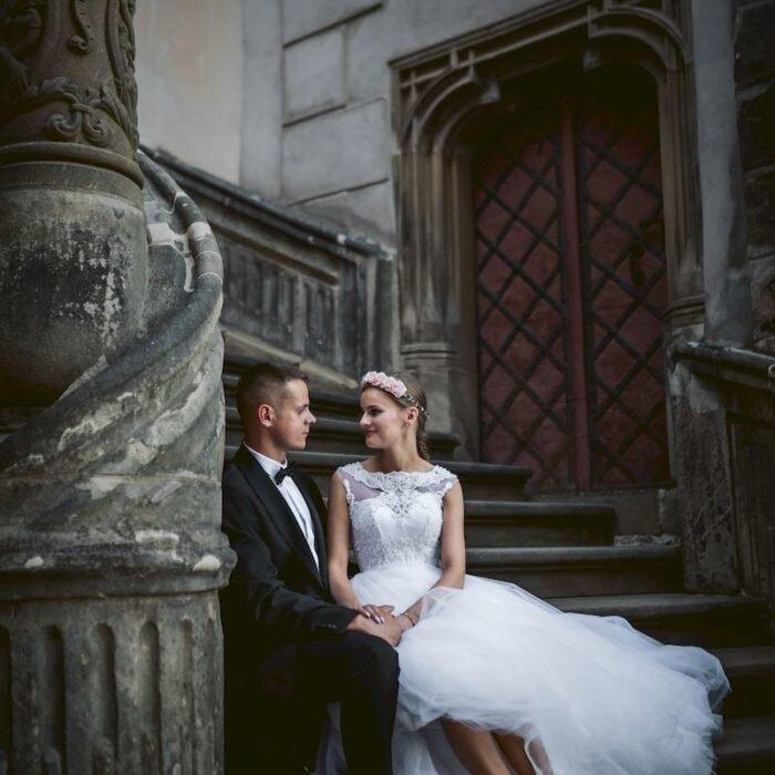 sesje w mieście za granicą, fotograf na wesele