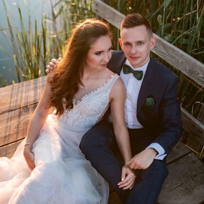 sesja ślubna plenerowa na pomoście wrocław